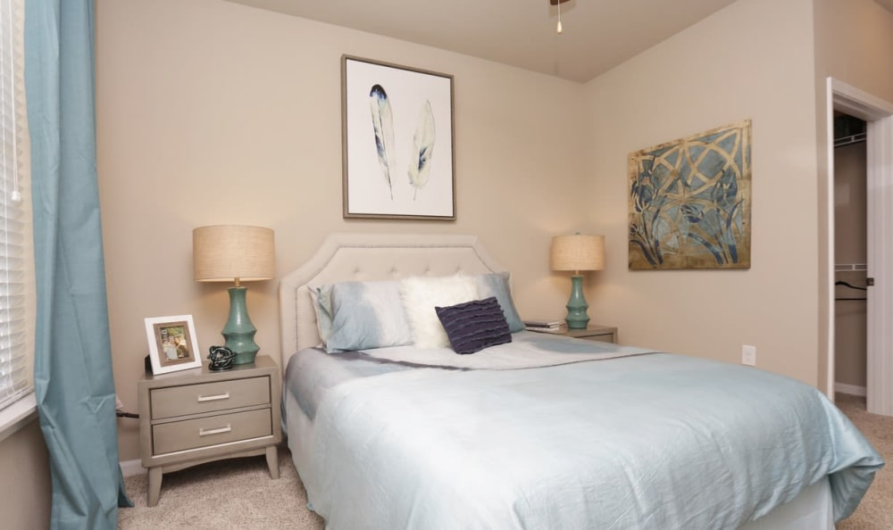 Bedroom at Springs at Laurens Road in Greenville