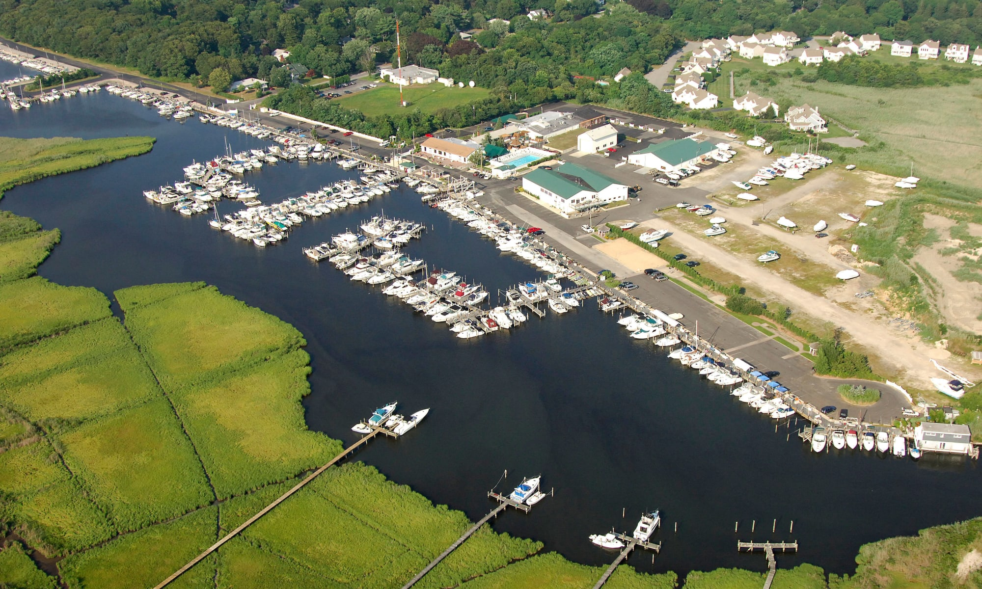 Aerial view of Aquamarina Sunset Harbour