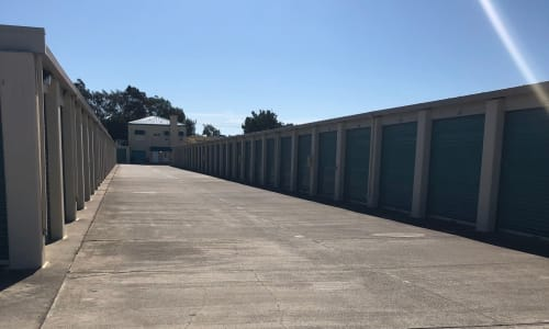 Storage Star Fairfield in Fairfield, California storage facility Exterior Storage Units