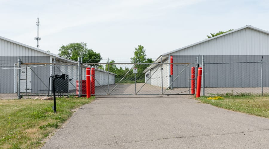 Gated entrance at KO Storage of Annandale - Hwy 55 in Annandale, Minnesota