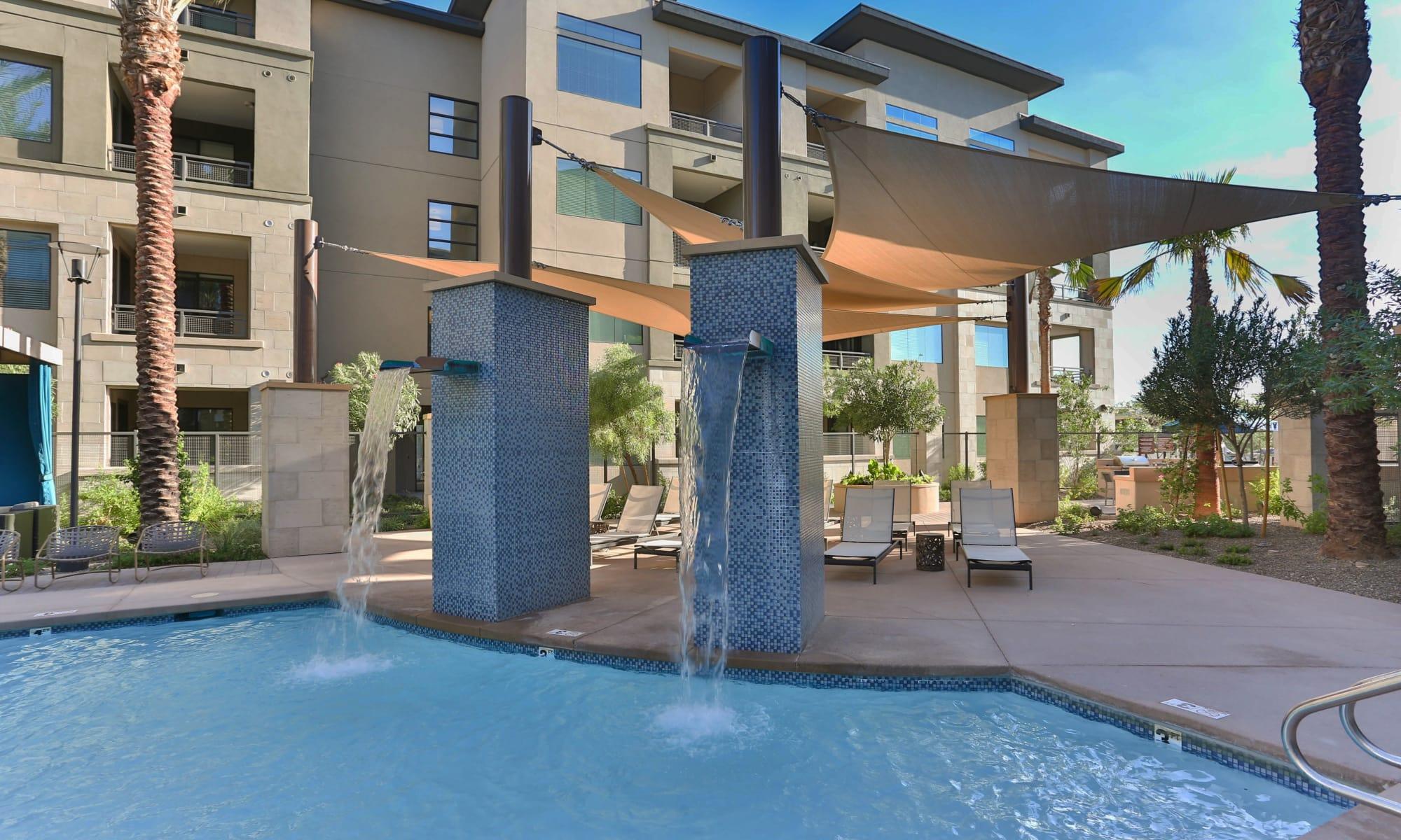 Avant at Fashion Center apartments in Chandler, Arizona