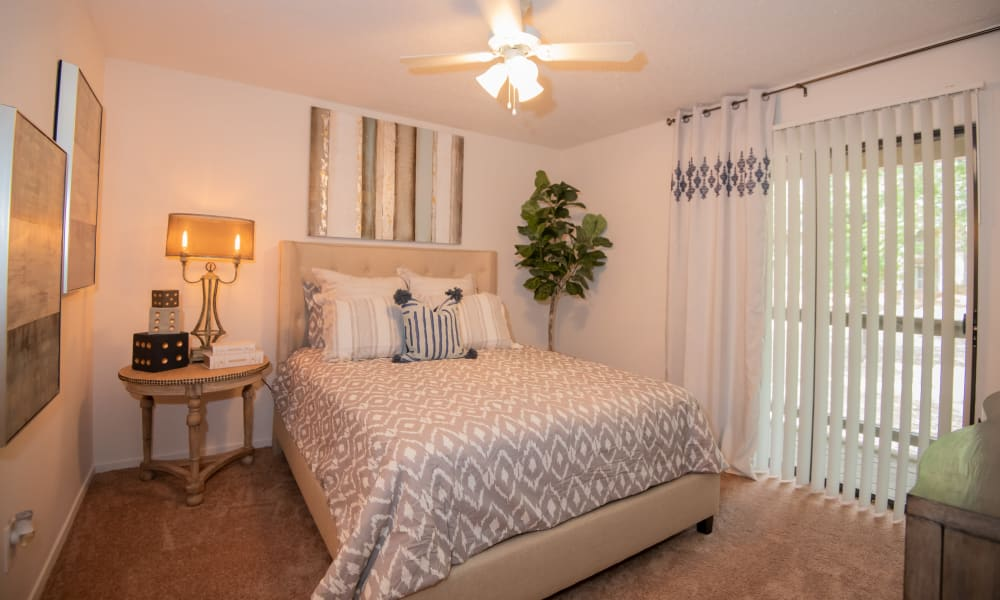 Spacious master bedroom at The Trace of Ridgeland in Ridgeland, Mississippi