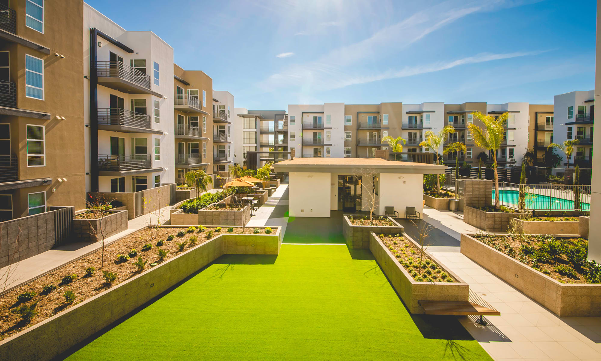 Live well at IMT Sherman Circle apartments in Van Nuys, CA