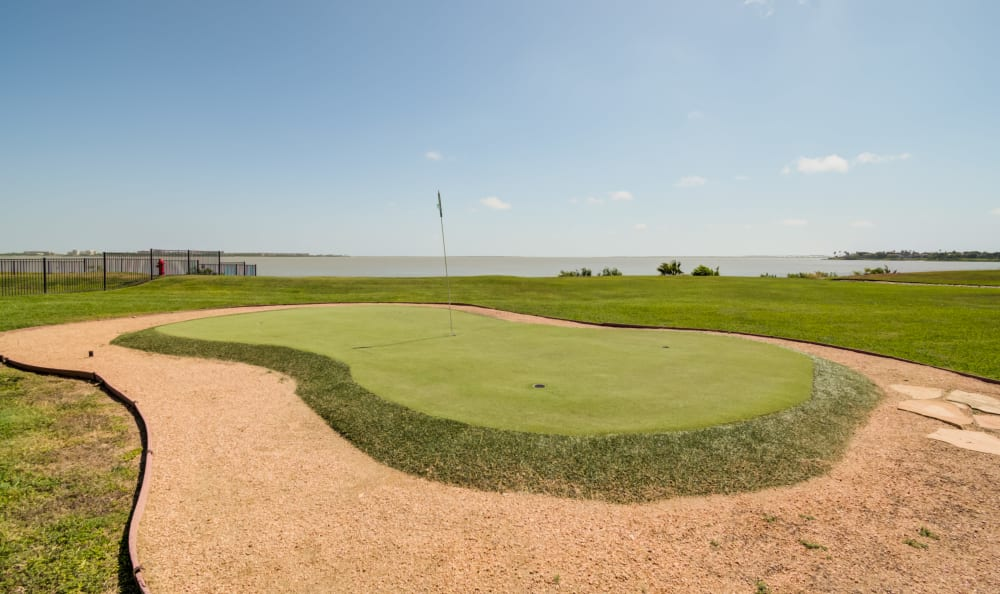 Our Apartments in Corpus Christi, Texas offer a golf course