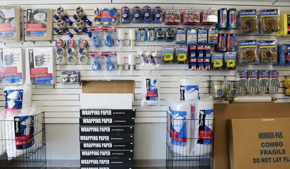 Packing supplies available at Midgard Self Storage in Murfreesboro, Tennessee