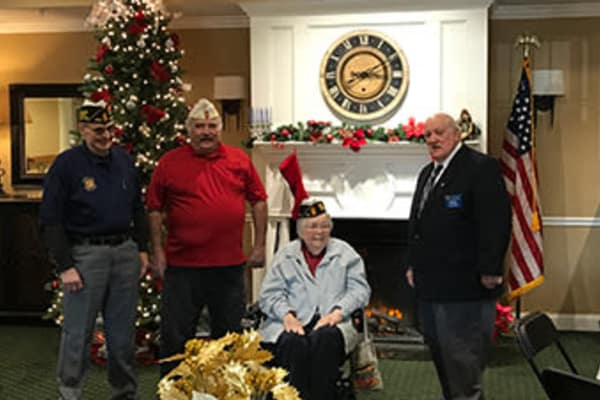 ARBOUR SQUARE RESIDENT NAMED HONORARY 9TH DISTRICT COMMANDER OF THE PENNSYLVANIA AMERICAN LEGION