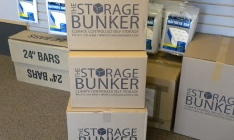Packing supplies available at The Storage Bunker in Medford, Massachusetts