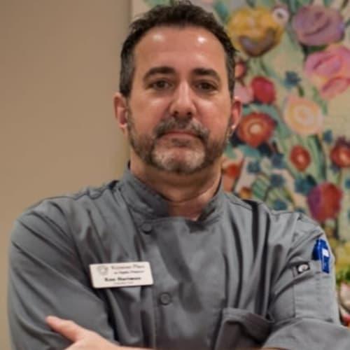 Ken Hartman, Executive Chef of Keystone Place at Naples Preserve in Naples, Florida