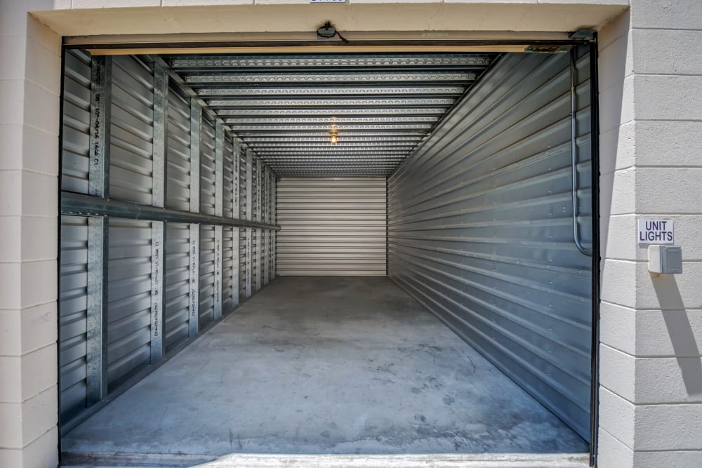 Large drive-up units at Smart Self Storage of Eastlake