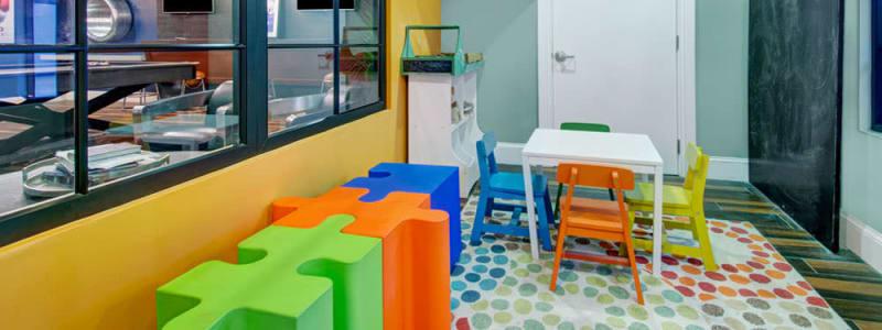 Children's center at Bradlee Danvers in Danvers, Massachusetts