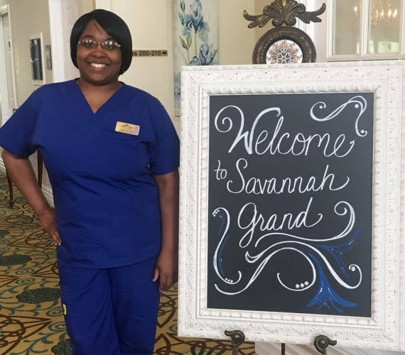 Shandrka Allen, Resident Care Associate at Savannah Grand of Bossier City in Bossier City, LA