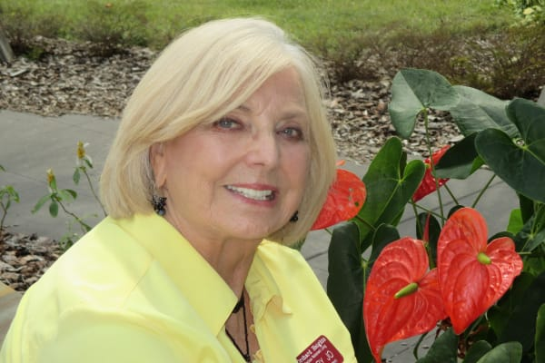 Mary Jo Greenwood at The Savoy Gracious Retirement Living in Winter Springs, Florida