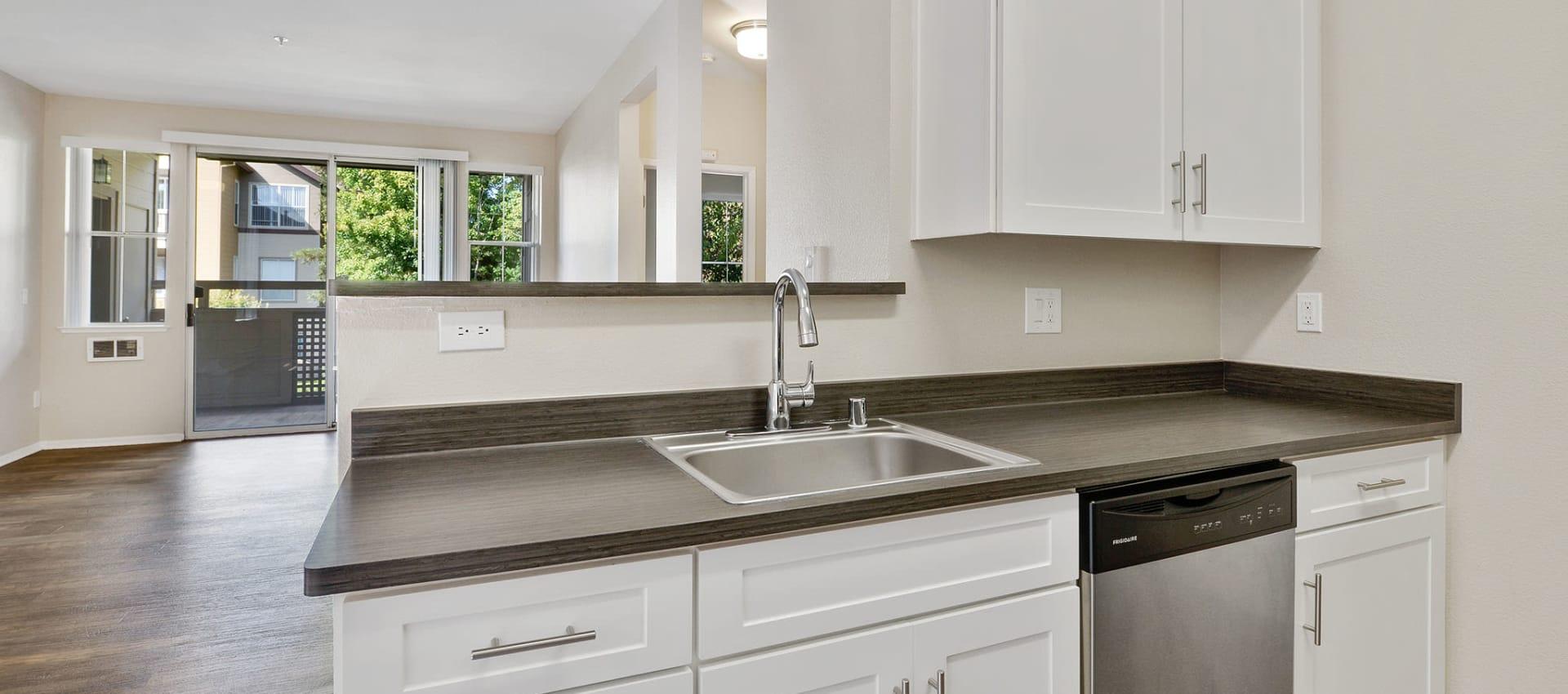 Upgraded Kitchen at Rosewalk at San Jose