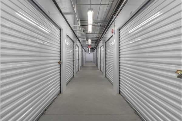 Interior storage units at Midgard Self Storage in Murrells Inlet, South Carolina