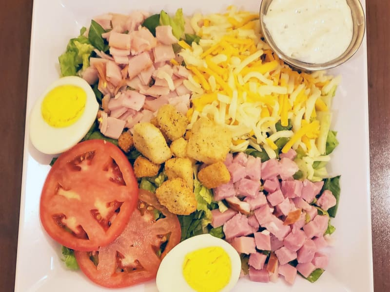 Chef Salad at Pear Valley Senior Living