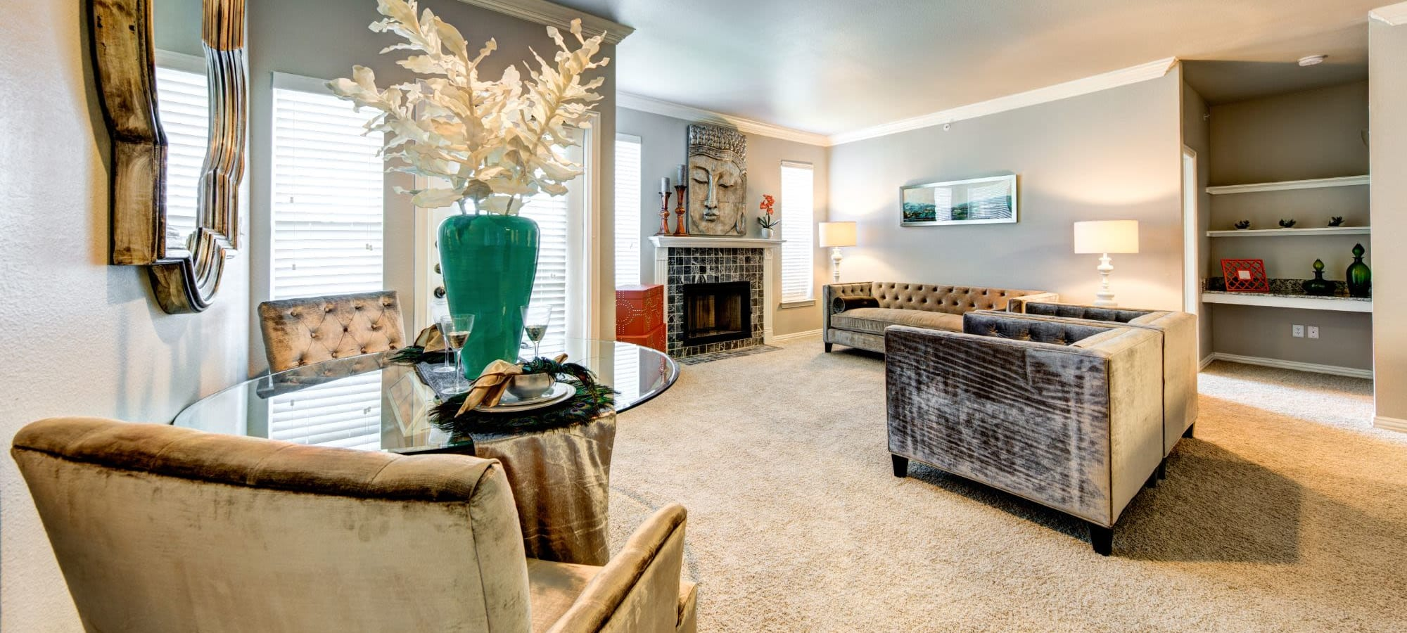 Floor plans at Marquis at Silver Oaks in Grapevine, Texas