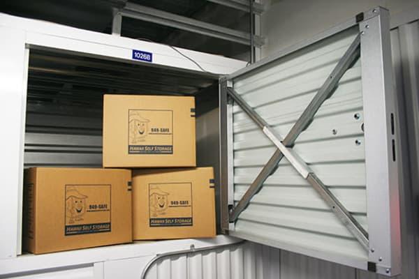 5x5x3 Small Unit at Hawai'i Self Storage, HI