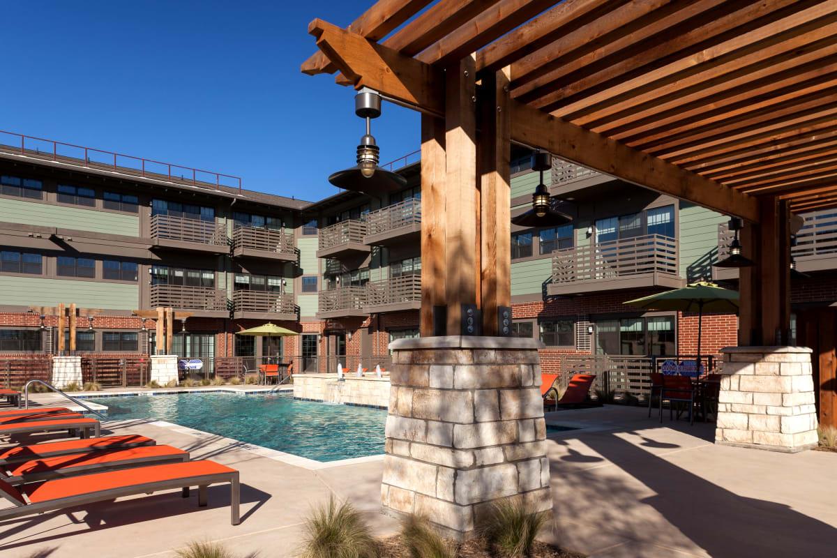 Pool at Bellrock Bishop Arts in Dallas, Texas