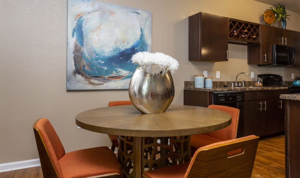 Dining area at Springs at Gulf Coast in Estero, FL