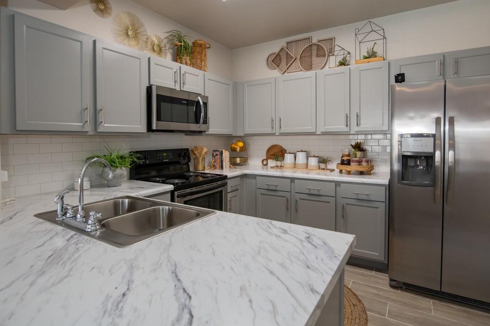 Kitchen at Artisan Crossing in Norman, Oklahoma