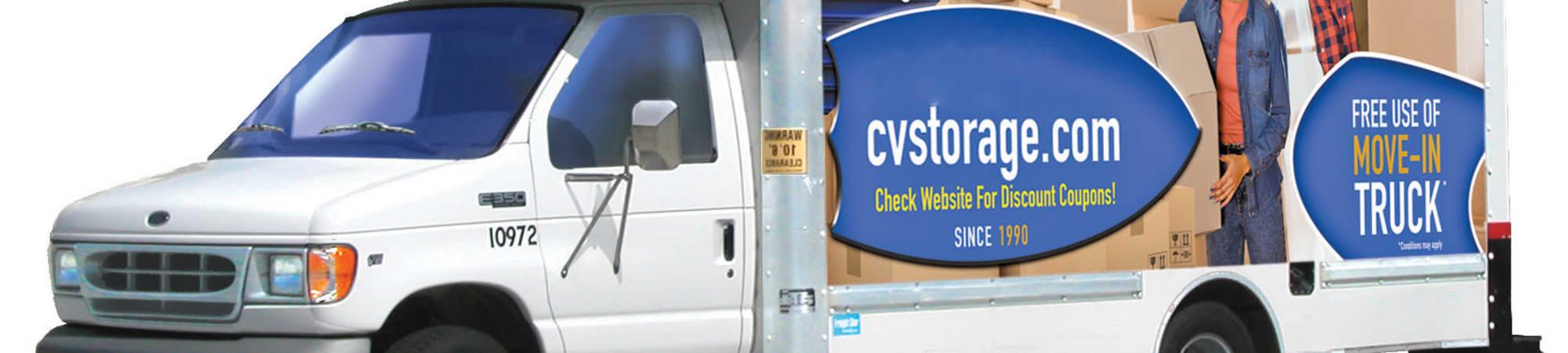 Free Move In Truck from Castro Valley Hayward Storage in Castro Valley, California