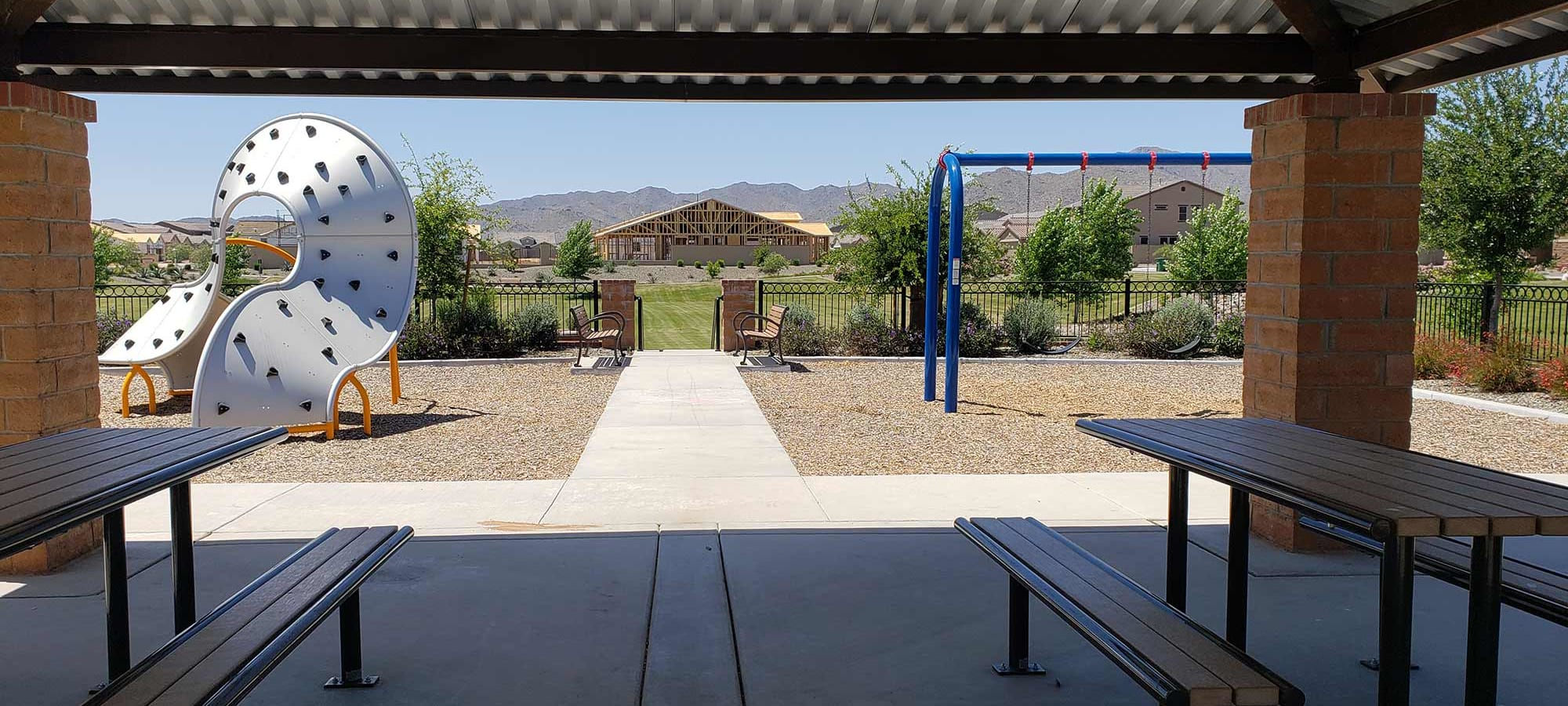 Community Area at Las Casas at Windrose in Litchfield Park, Arizona