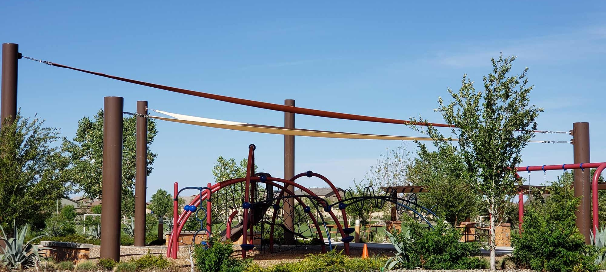 Community Playground at Las Casas at Windrose in Litchfield Park, Arizona