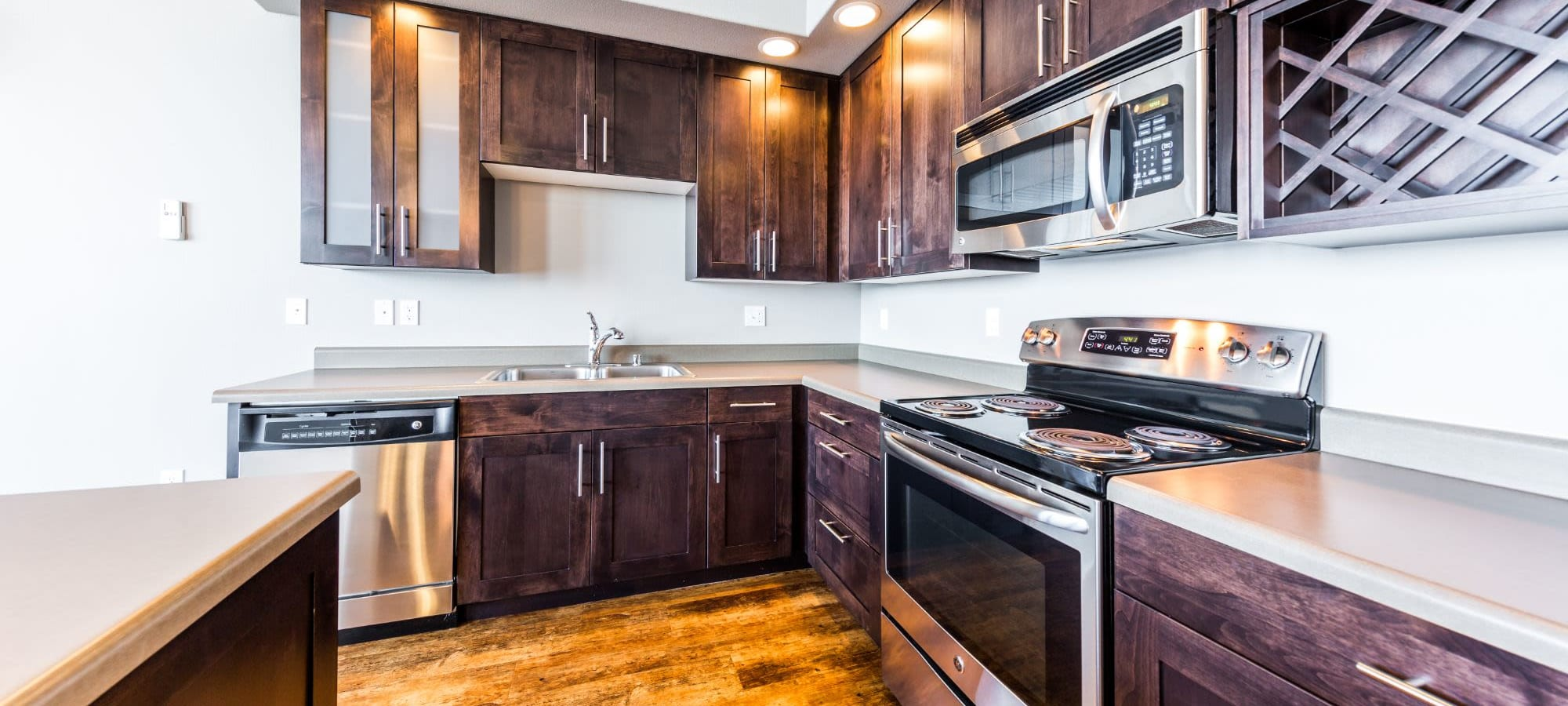 Floor plans at Copperline at Point Ruston in Tacoma, Washington