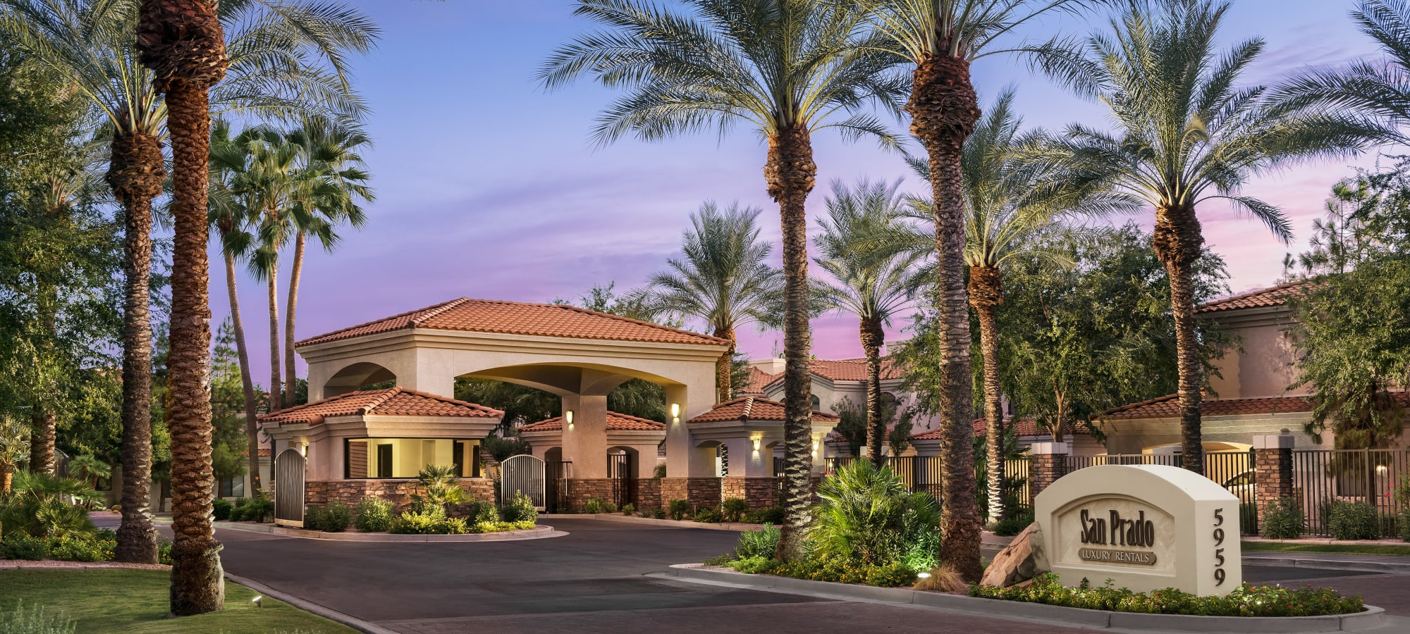 Gated Community at San Prado in Glendale, Arizona