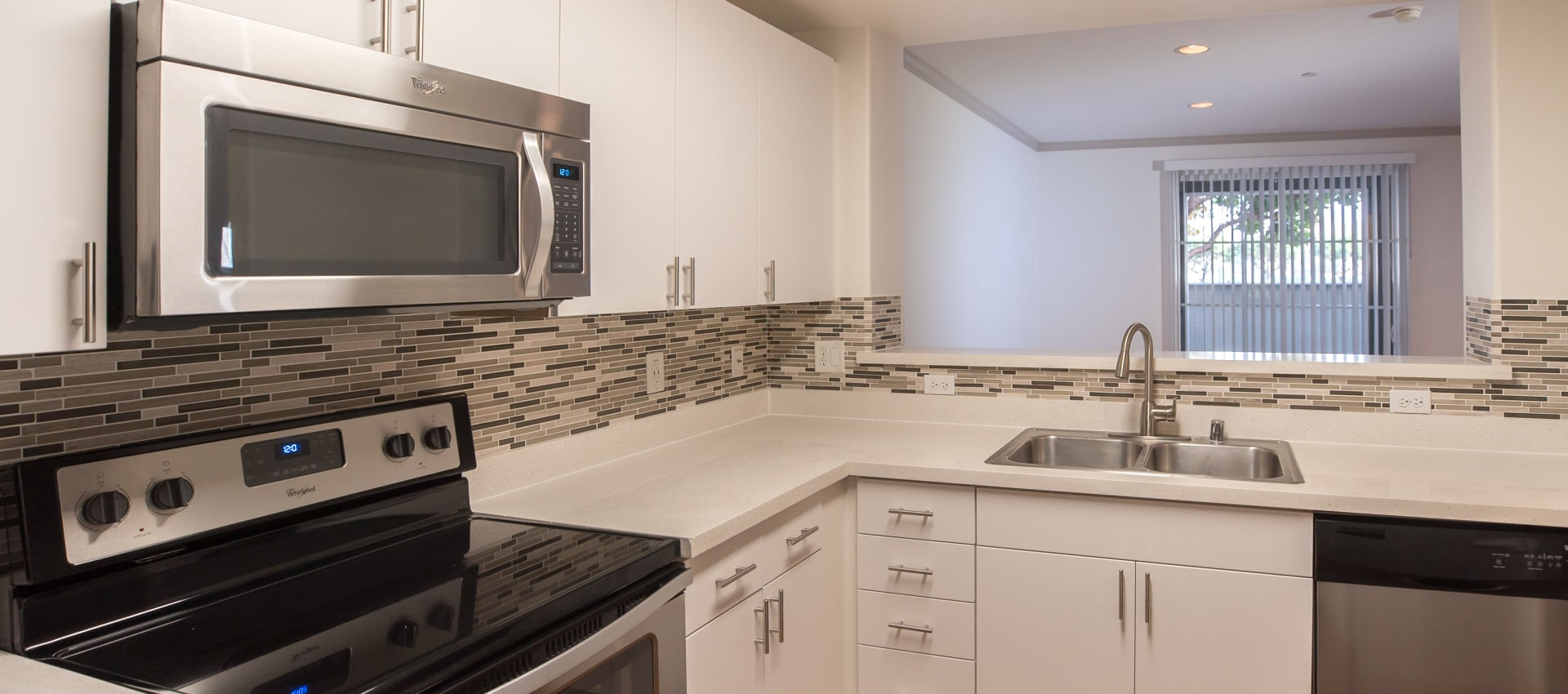 Stainless appliances in some units at Park Central in Concord, California