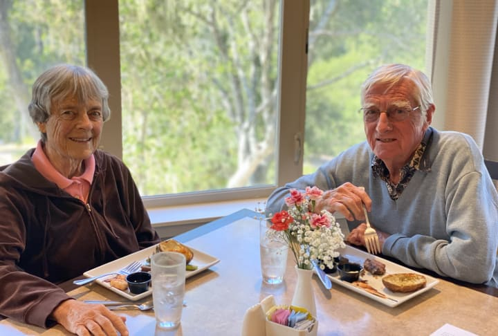 Monterey (CA) residents enjoyed a delicious meal for Father's Day!