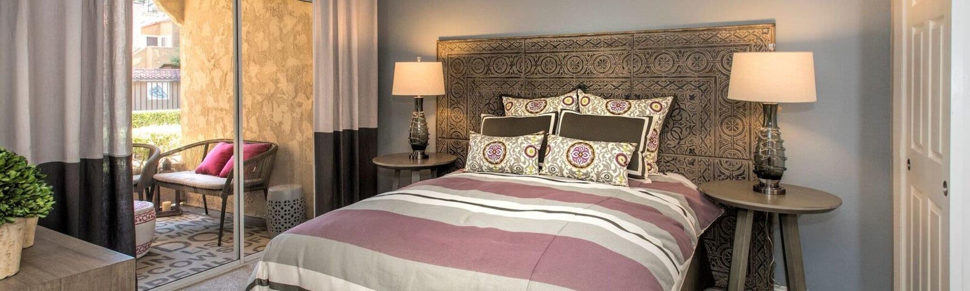 Floor plans at Hidden Hills Condominium Rentals in Laguna Niguel, California