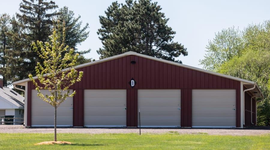 Exterior of outdoor units at KO Storage of Black River Falls in Black River Falls, Wisconsin