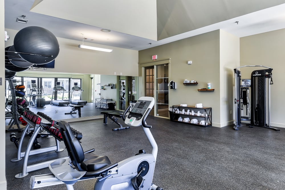 Our Apartments in Overland Park, Kansas offer a Gym