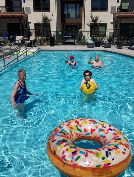 Merrill Gardens at Rancho Cucamonga pool