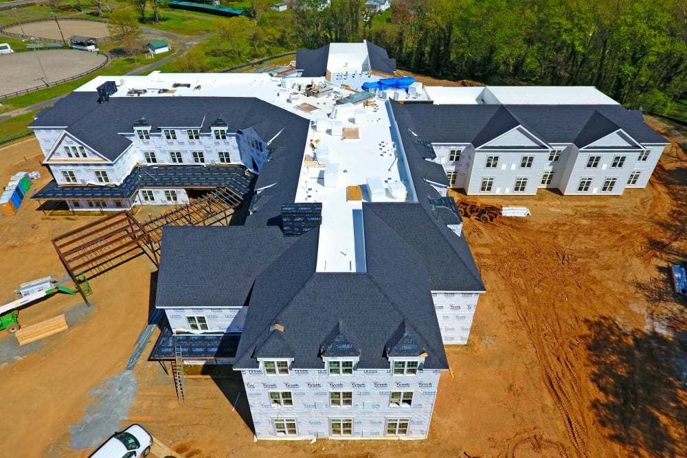 White Springs Construction Picture Side in Warrenton, Virginia