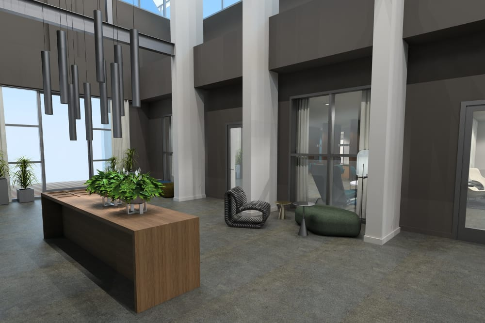 Luxury entryway at Sky at Chandler Airpark in Chandler, Arizona