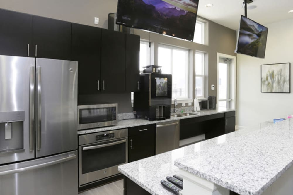 Kitchen at Springs at Canterfield in West Dundee