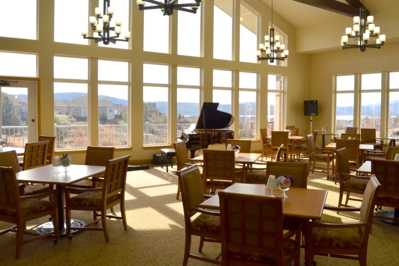 Banquet hall at Crystal Terrace of Klamath Falls in Klamath Falls
