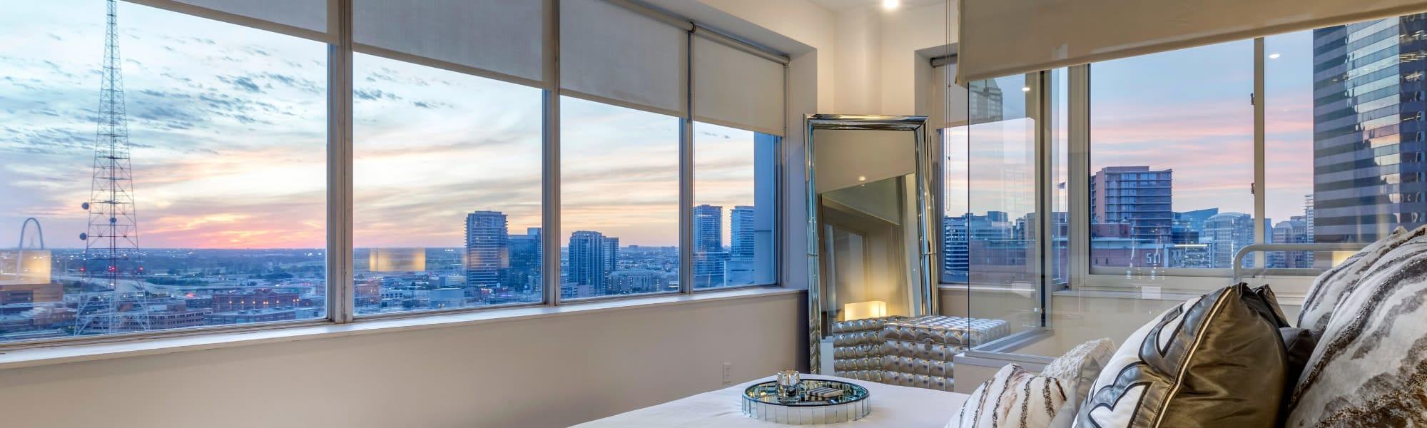 Floor plans at Mosaic Dallas in Dallas, Texas