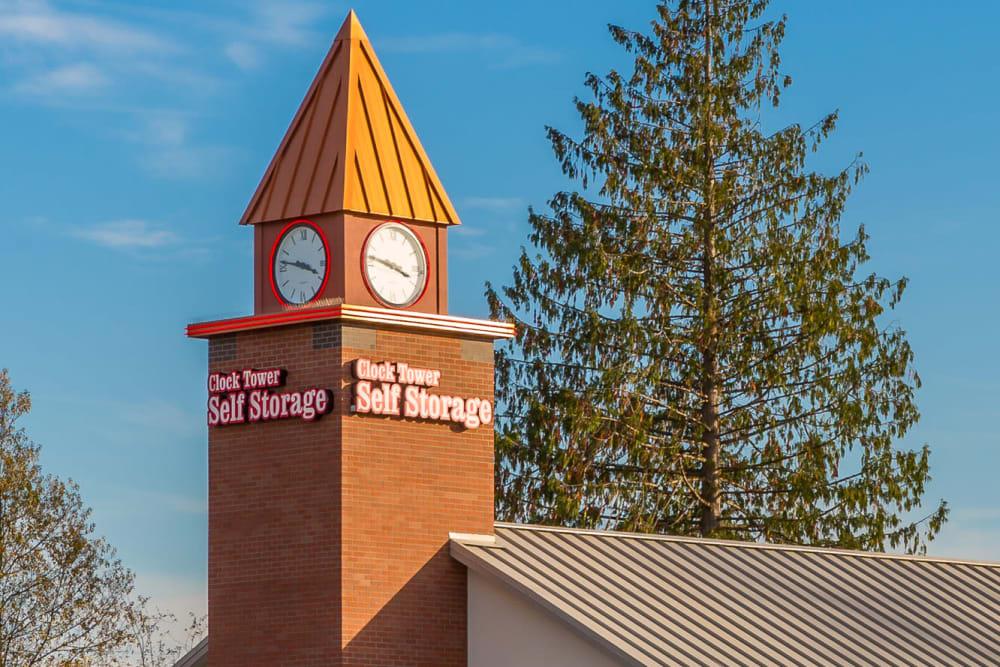 Self Storage Rental Office at Clock Tower Self Storage - Lake Stevens in Lake Stevens, WA