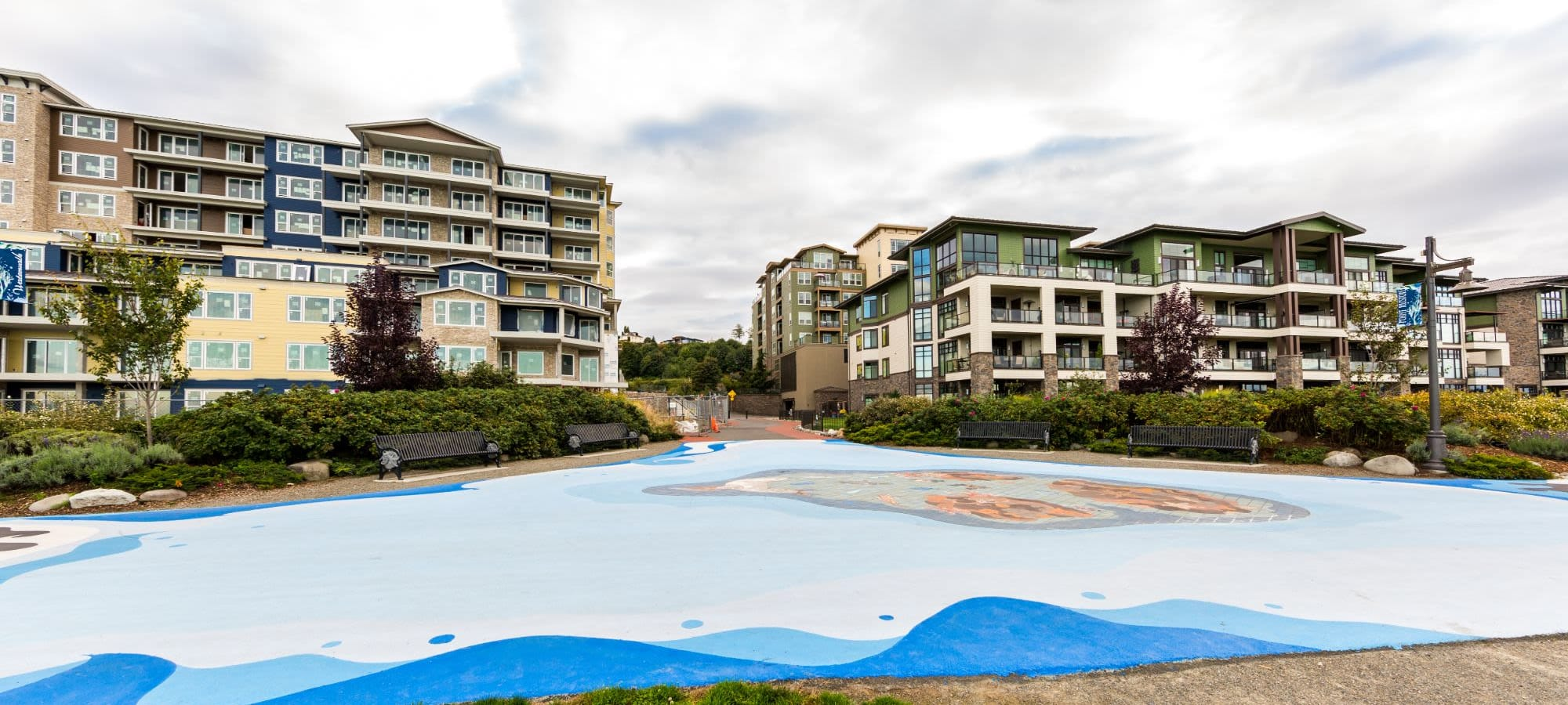 Amenities at Copperline at Point Ruston in Tacoma, Washington