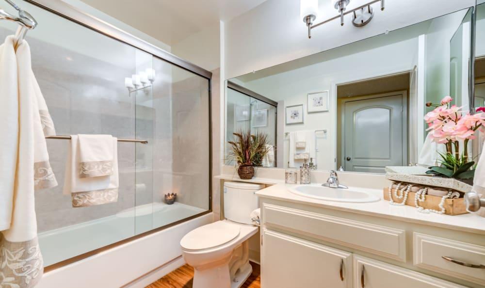 Bathroom at The Ritz in Studio City, California