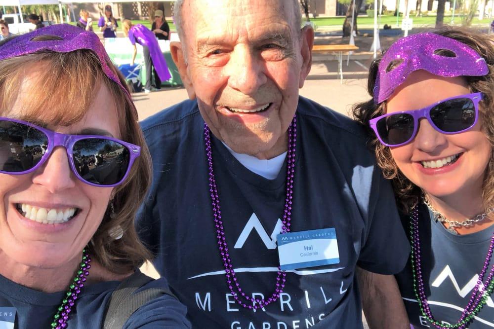 Anthem team at Walk to End Alzheimer's in Phoenix, AZ