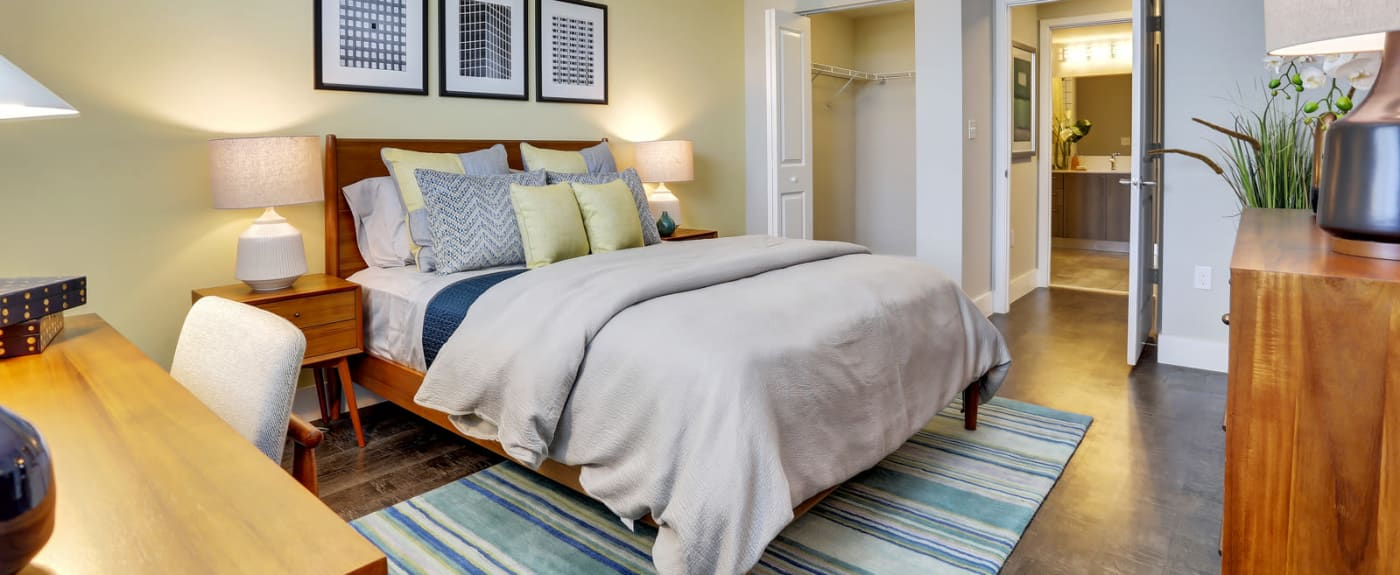 Beautifully decorated bedroom at Casa Vera