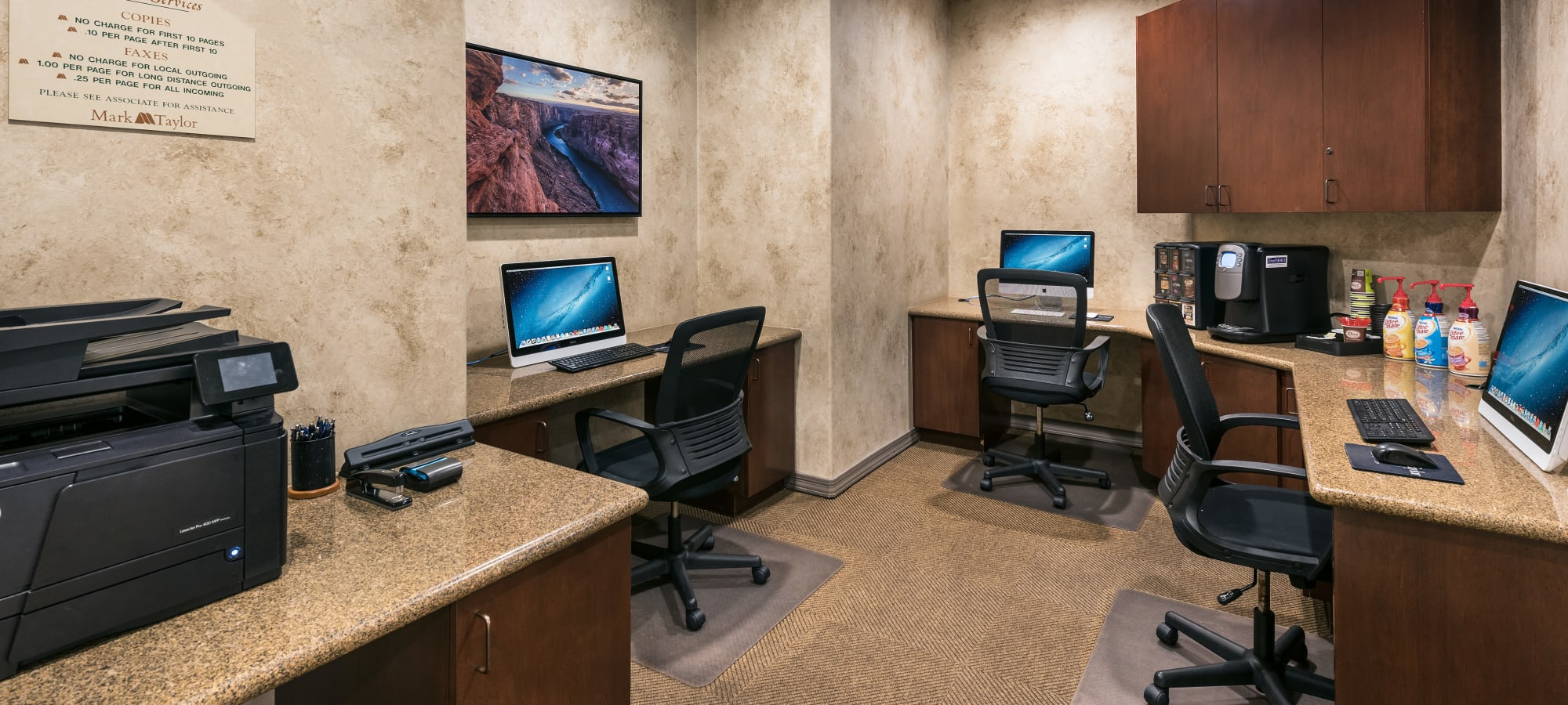 Luxury business center at San Prado in Glendale, Arizona