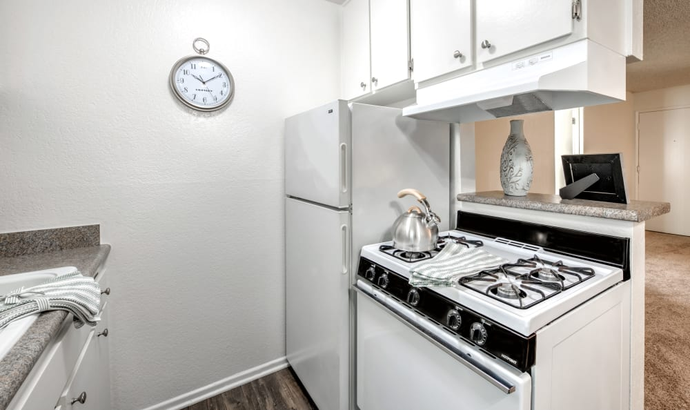 Kitchen at our apartments in Studio City, CA