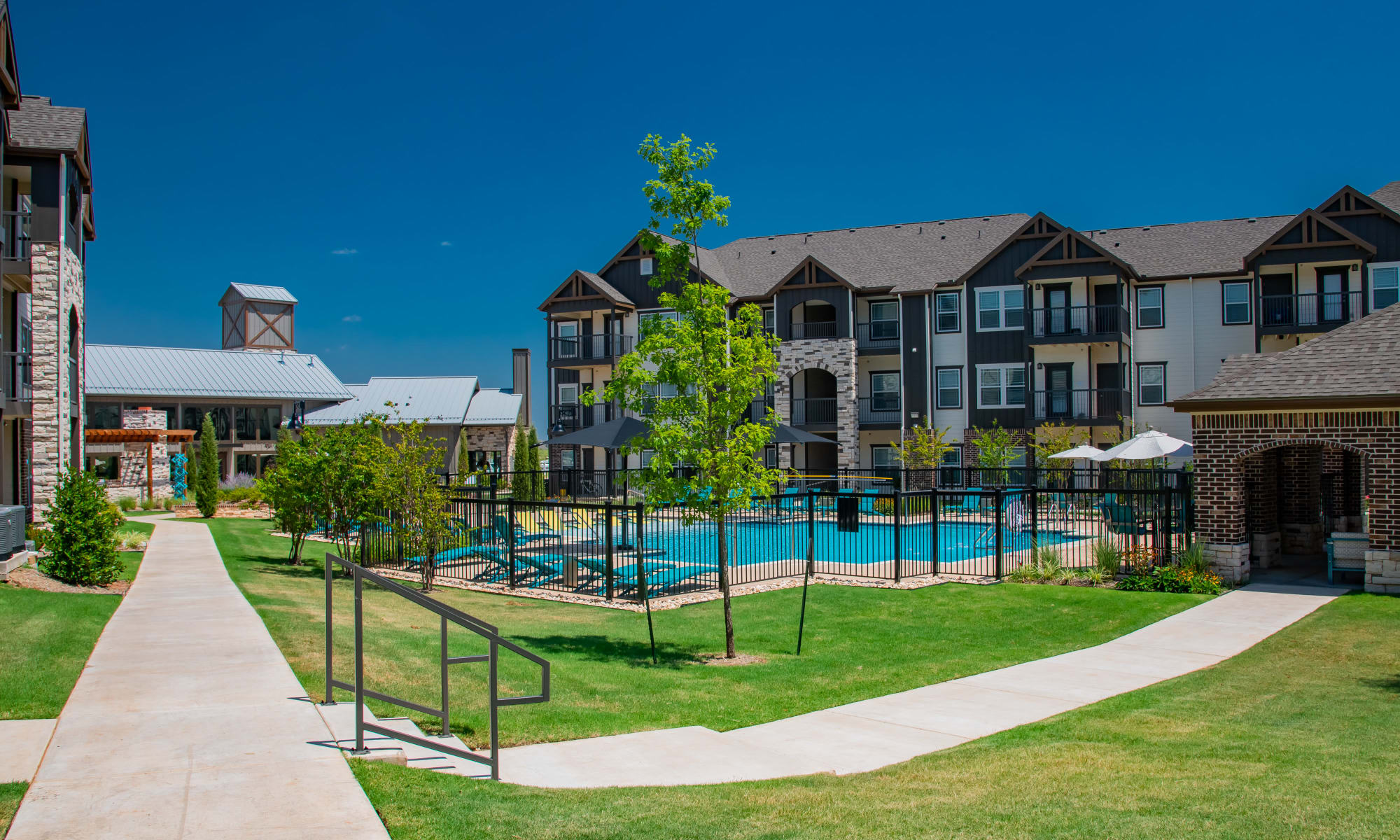 Bend at New Road Apartments in Waco, Texas