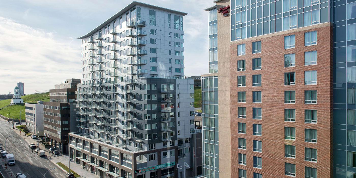 Exterior view of 19Twenty Apartments in Halifax, Nova Scotia