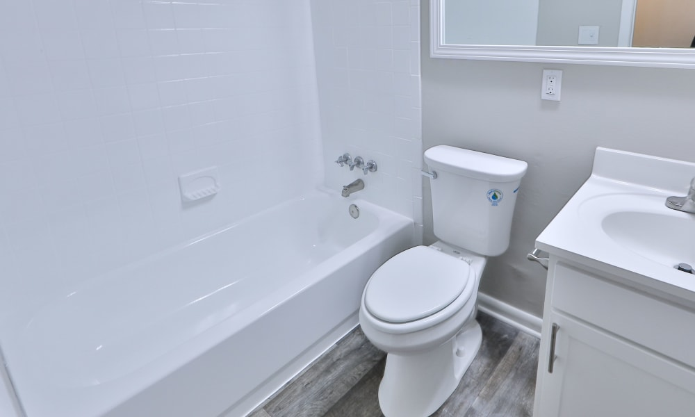 Bathroom at Morningside Apartments & Townhomes in Owings Mills, Maryland